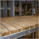 Wooden Pallet Racking Deck Boards